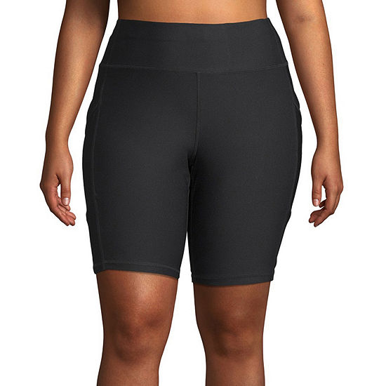Xersion Train Womens Plus Bike Short