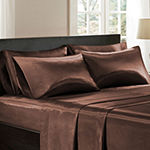Madison Park Essentials Solid Satin 6-pc. Sheet Set