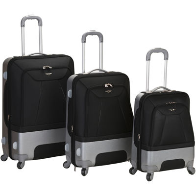 Rockland Rome 3-pc. Luggage Set
