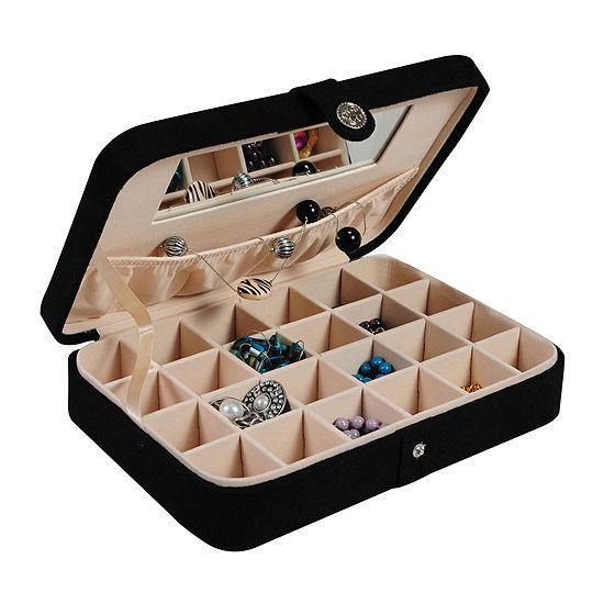 Mele & Co. Maria Fabric Jewelry Box