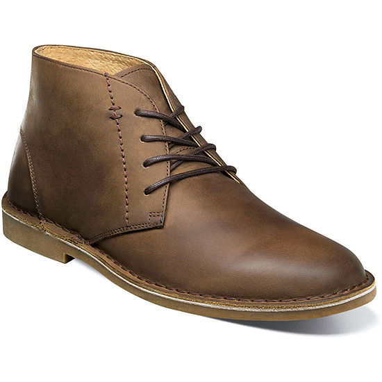 Nunn Bush Mens Galloway Dress Boots Flat Heel