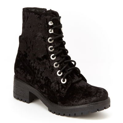 Union Bay Allie Womens Combat Boots
