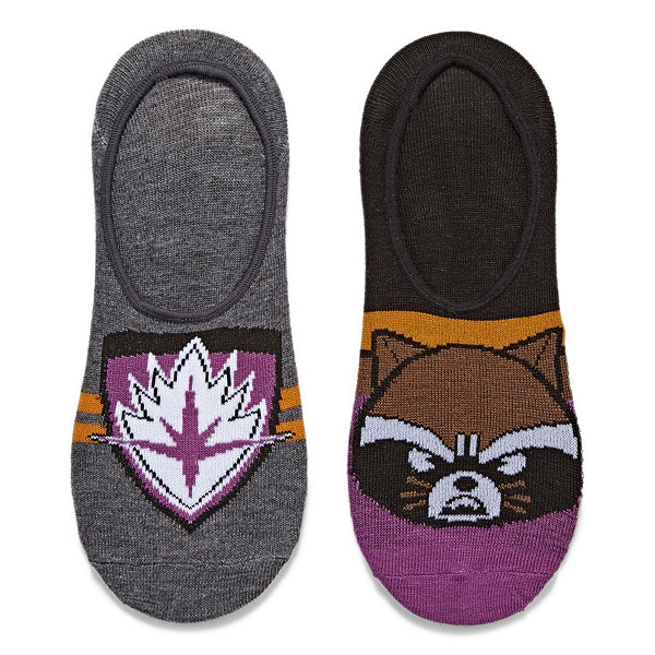 2 Pair Liner Socks - Guardians of the Galaxy