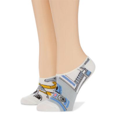 2 Pair Liner Socks - Star Wars Multi