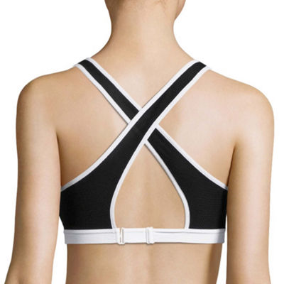 Flirtitude Wireless Push Up Sports Plunge Bra