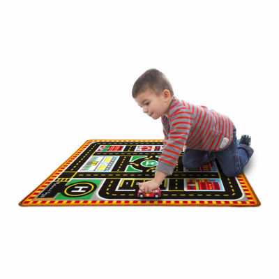 Melissa & Doug® Round the City Rescue Rug