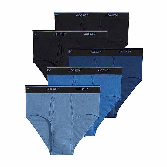 Jockey® Essential Fit Staycool+™ 4 pk Briefs + Bonus Brief - JCPenney