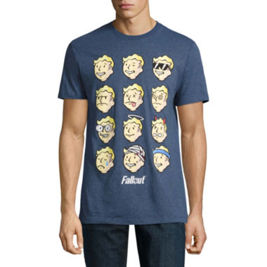 Fallout Faces Short-Sleeve Graphic T-Shirt