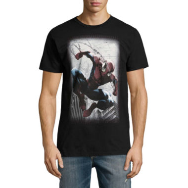 Short Sleeve Marvel Graphic T-Shirt
