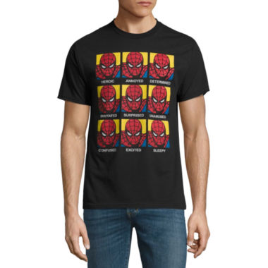 Short Sleeve Avengers Tv + Movies Graphic T-Shirt