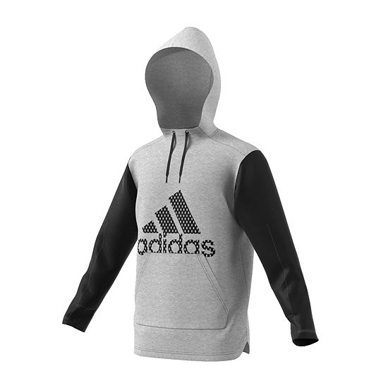 4951cadcf5b9 adidas Long Sleeve Hooded Moisture Wicking Hoodie-Athletic - JCPenney