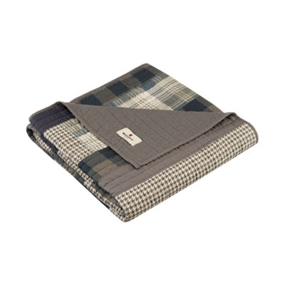 Woolrich Winter Hills Quilted Quilted Throw