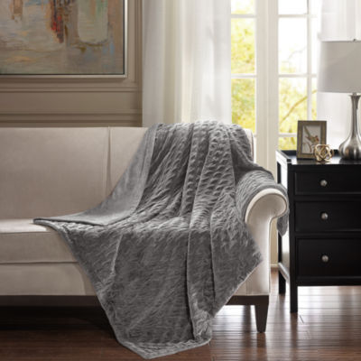 Bombay Victoria Oversized Textured Plush Throw