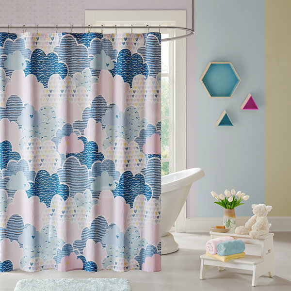 Bliss Cotton Shower Curtain