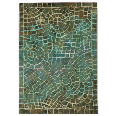 Liora Manne Visions V Arch Tile Rectangular Rugs