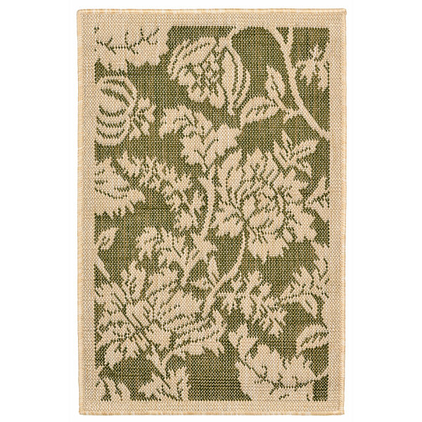 Liora Manne Terrace Floral Rectangular Rugs