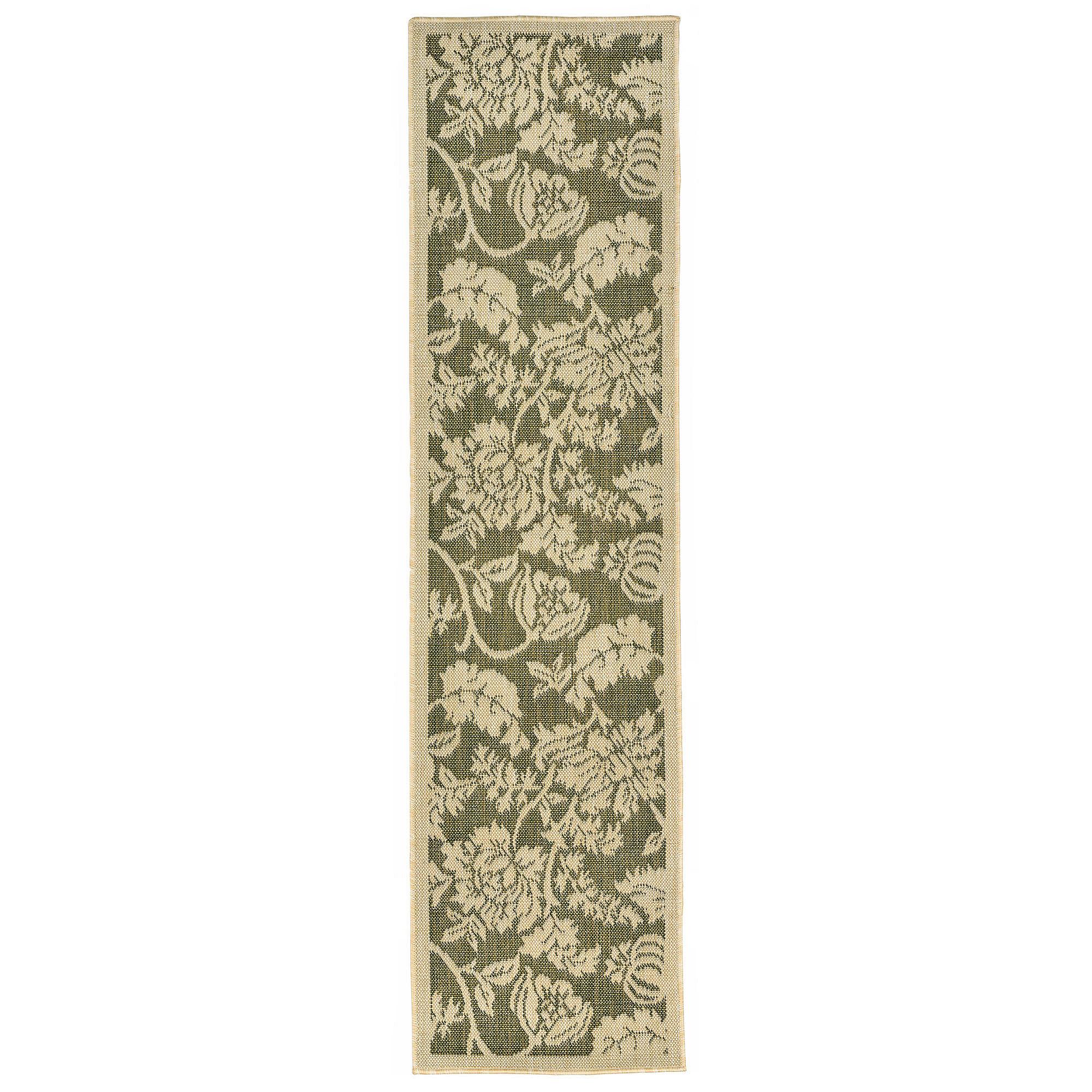 Liora Manne Terrace Floral Rectangular Runner