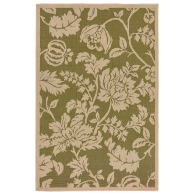 Liora Manne Terrace Floral Rectangular Rugs