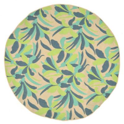 Liora Manne Playa Flower Round Rugs