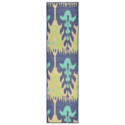 Liora Manne Playa Ikat Rectangular Runner