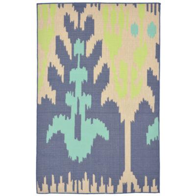 Liora Manne Playa Ikat Rectangular Rugs