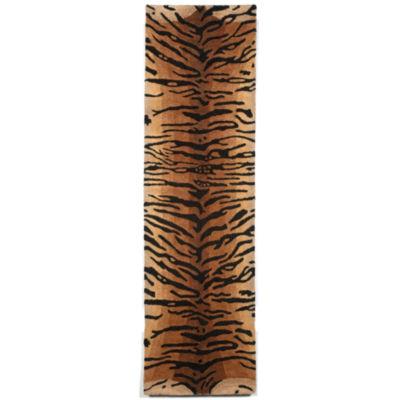 Liora Manne Seville Tiger Hand Tufted Rectangular Runner