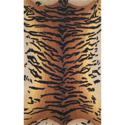 Liora Manne Seville Tiger Hand Tufted Rectangular Rugs
