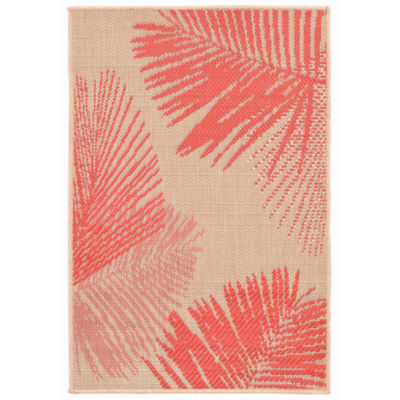Liora Manne Terrace Palm Rectangular Indoor/Outdoor Accent Rug