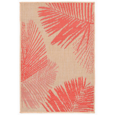 Liora Manne Terrace Palm Rectangular Indoor Outdoor Rugs Jcpenney