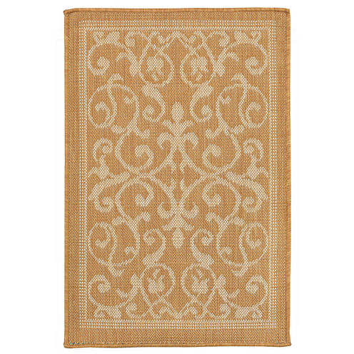 Liora Manne Terrace Scroll Vine Rectangular Rugs