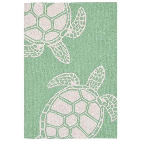Liora Manne Capri Turtle Hand Tufted Rectangular Rugs