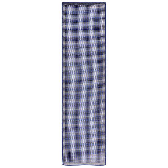 Liora Manne Terrace Texture Rectangular Indoor/Outdoor Runner