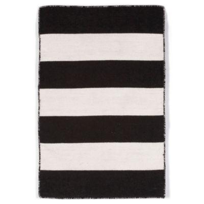 Liora Manne Sorrento Rugby Stripe Rectangular Indoor/Outdoor Rugs
