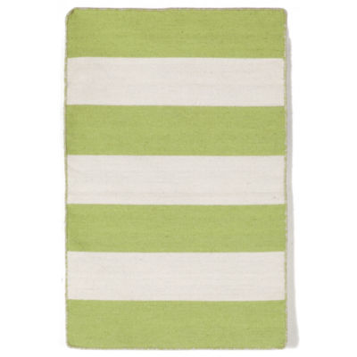 Liora Manne Sorrento Rugby Stripe Rectangular Rugs