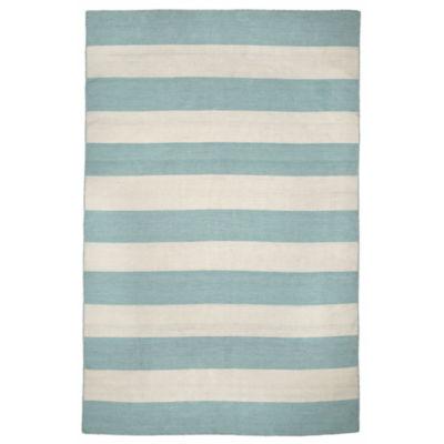 Liora Manne Sorrento Rugby Stripe Rectangular Indoor/Outdoor Area Rug