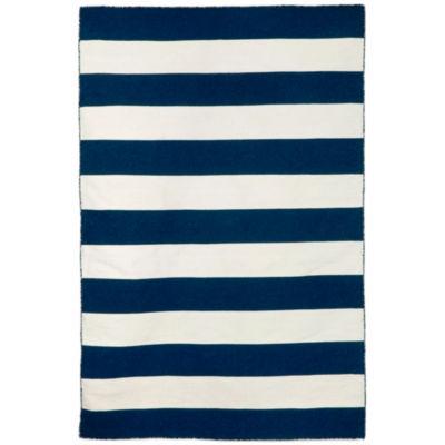 Liora Manne Sorrento Rugby Stripe Rectangular Rugs