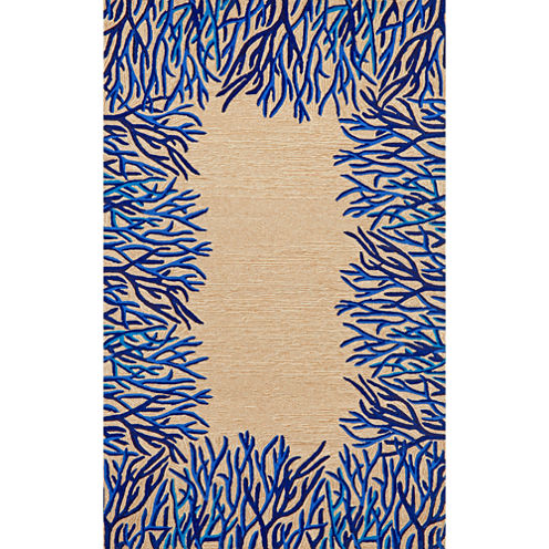 Liora Manne Spello Coral Hand Tufted Rectangular Rugs