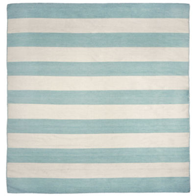 Liora Manne Sorrento Rugby Stripe Square Rugs