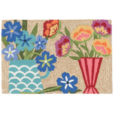 Liora Manne Frontporch Still Life Hand Tufted Rectangular Rugs
