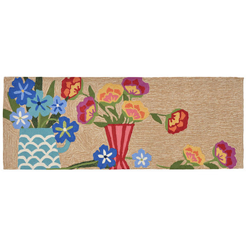 Liora Manne Frontporch Still Life Hand Tufted Rectangular Runner