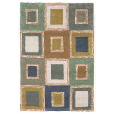 Liora Manne Spello Big Squares Hand Tufted Rectangular Rugs