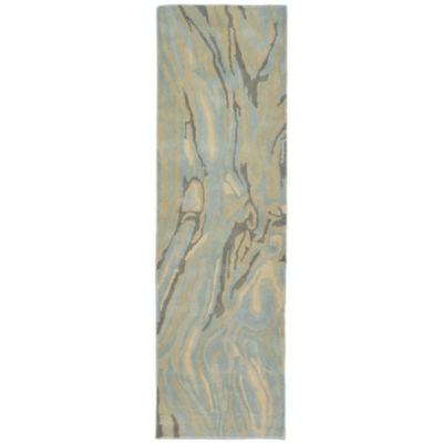 Liora Manne Tivoli Marble Hand Tufted Rectangular Runner