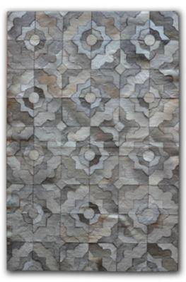 Natural Stitch Hide Marrakeche Rectangular Rugs