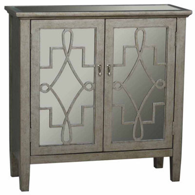 Home Meridian Metallic Chest Storage Chest