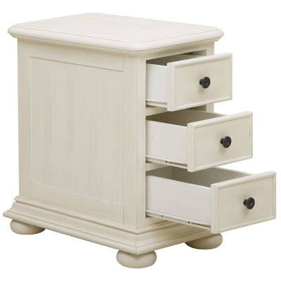 Home Meridian Chairside Chest Storage Chest