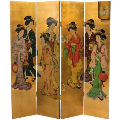 Oriental Furniture 6' Geisha Room Divider