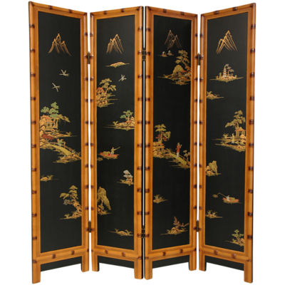 Oriental Furniture 6' Ching Room Divider
