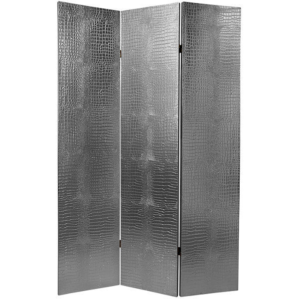 Oriental Furniture 6' Crocodile Room Divider