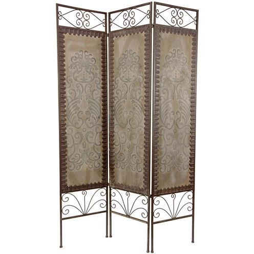 Oriental Furniture 6' Mediterranean Room Divider