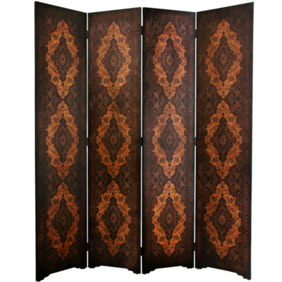 Oriental Furniture 6' Olde Worlde Classical Room Divider